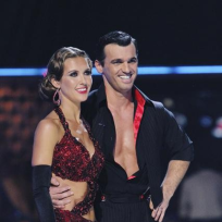 Tony Dovolani and Audrina Patridge Photo