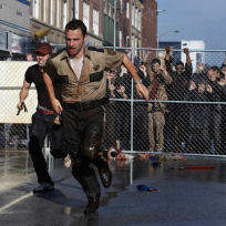 Rick on the run