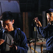 Michael and Kevin Search the Film