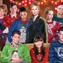 Glee Christmas Card
