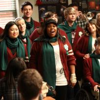 Caroling on Glee