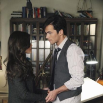Aria and Ezra Photo