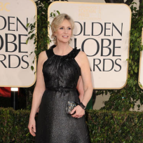 Jane lynch at the globes