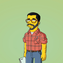 David Mamet on The Simpsons