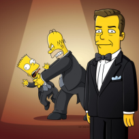 Ricky Gervais on The Simpsons