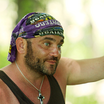 Russell Hantz Listens Intently