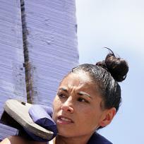 Stephanie Valencia Looks On