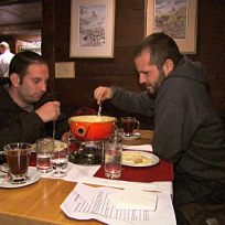 Zev and Justin Eat a Lot of Cheese