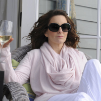 Liz in the Hamptons