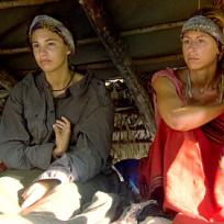 Natalie and Ashley are Freezing