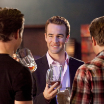 James van der beek on franklin and bash