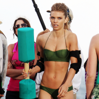 AnnaLynne McCord on 90210 Set