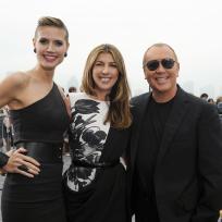 Heidi Klum, Nina Garcia and Michael Kors