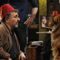 Artie-and-a-dog