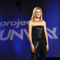 Heidi Klum on Project Runway