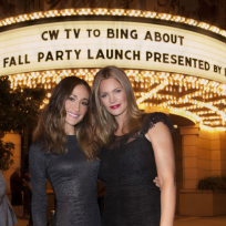 Maggie Q and Natasha Henstridge
