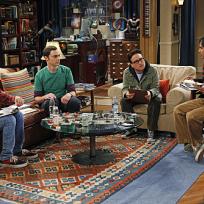 The men of the big bang theory