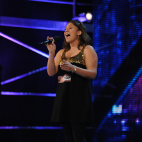 Melanie Amaro on The X Factor
