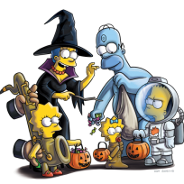 The-simpsons-on-halloween