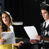 Rachel and blaine