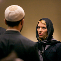 Carrie at a mosque
