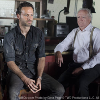 Rick and Hershel Photo