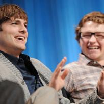 Ashton Kutcher at PaleyFest
