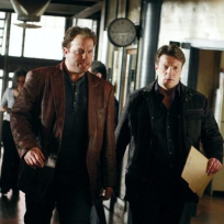 Castle and Detective Slaughter