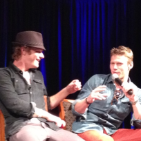 Zach Roerig and David Anders
