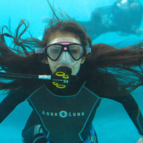 Elena-underwater
