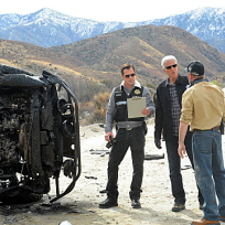 Nick and db investigate a car bomb
