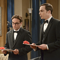 Leonard and sheldon prepare for the wedding