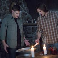 Dean and Sam Season Finale Photo