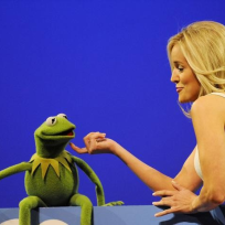 Emily and Kermit