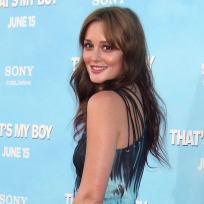 Leighton meester at thats my boy premiere