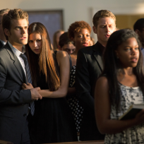 Mystic Falls in Mourning