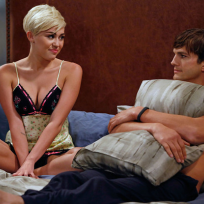 Miley Cyrus on Two and a Half Men