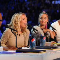 The X Factor Judging Team