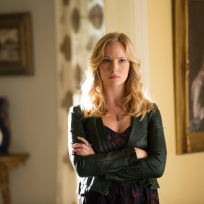 Angry Caroline Forbes
