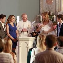 Baby carls christening