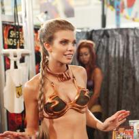 Naomi in costume