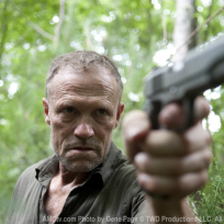 Merle with a Gun
