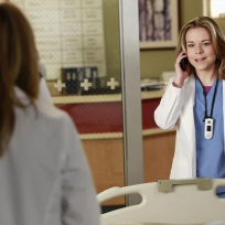 Tina Majorino on Grey's