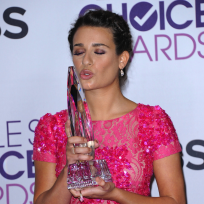 Lea michele at peoples choice awards