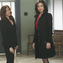 Cora and Regina in Storybrooke