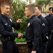 Chad Michael Murray on Southland