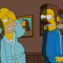 Homers black eye