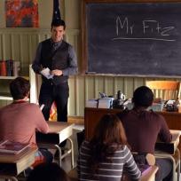 Greeting Mr. Fitz