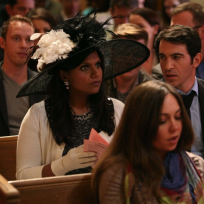 Mindy attends church