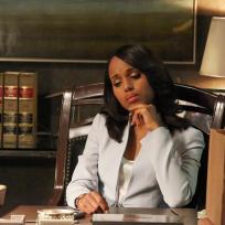 Olivia at Her Desk